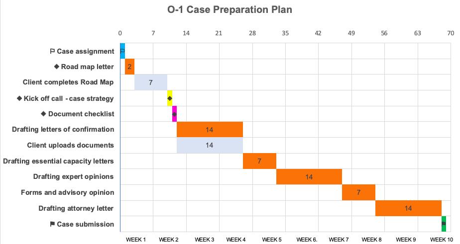 o-1 case preparation plan