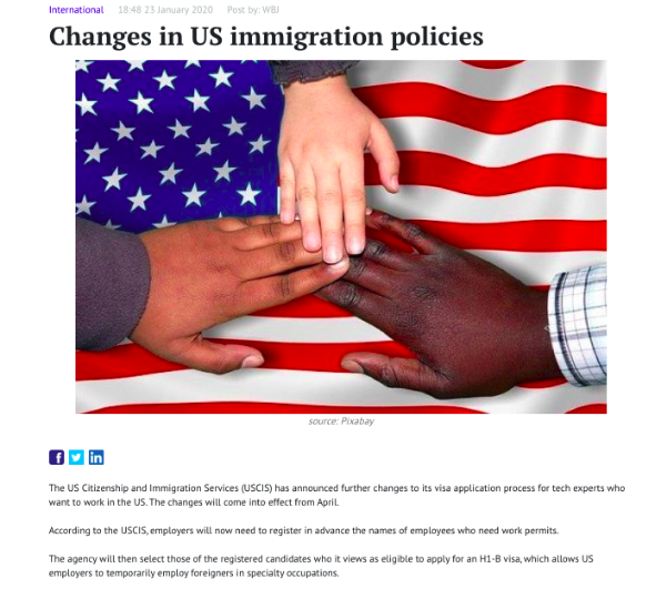 changes in US immigration policies