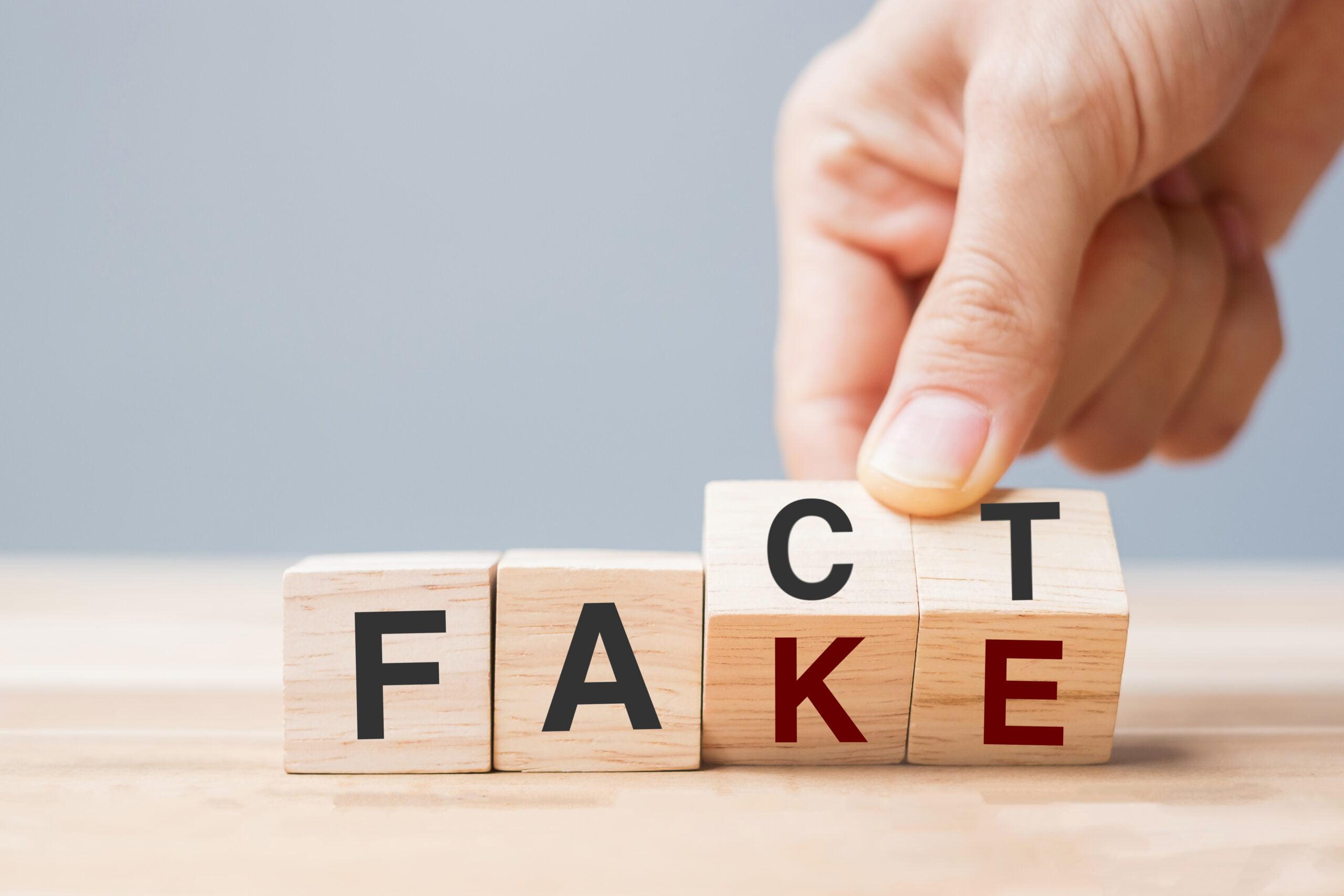 fake and fact